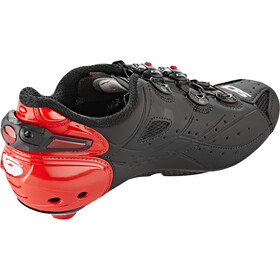 Sidi Shot Chaussures Homme, matt black/red